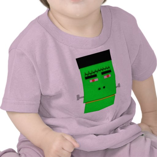 Cartoon Frankenstein Tee Shirt