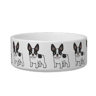 Cartoon French Bulldog Bowl
