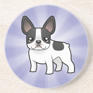 Cartoon French Bulldog Coaster