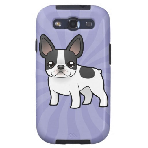 Cartoon French Bulldog Galaxy S3 Cover
