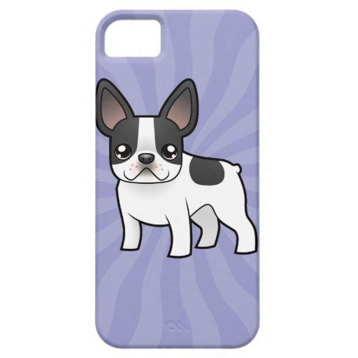 Cartoon French Bulldog iPhone 5 Covers : Zazzle