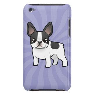 Cartoon French Bulldog iPod Case-Mate Case