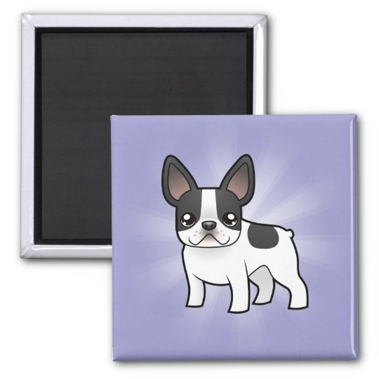 Cartoon French Bulldog Magnet