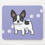 Cartoon French Bulldog Mouse Pad