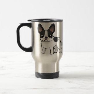 Cartoon French Bulldog 15 Oz Stainless Steel Travel Mug