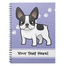 Cartoon French Bulldog Notebook