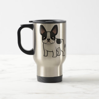 Cartoon French Bulldog Travel Mug