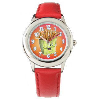 Cartoon French fry watch