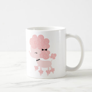 Cartoon French Poodle Coffee Mug