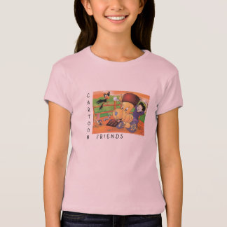 Cartoon Friends T-Shirt
