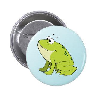 cartoon frog pin