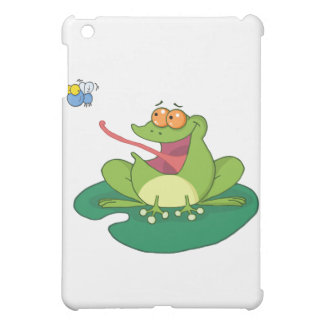 Cartoon Frog Catching Fly Case For The iPad Mini