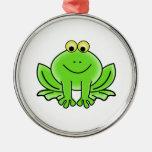 Cartoon Frog Christmas Tree Ornaments