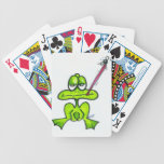 Cartoon Frog eating a fly Deck Of Cards