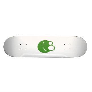 Cartoon Frog Face Skateboards