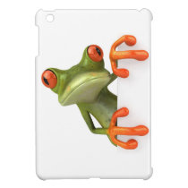 Cartoon Frog iPad Mini Cover
