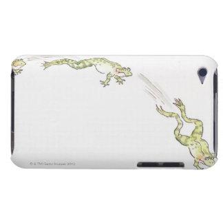 Cartoon Frog iPod Case-Mate Case