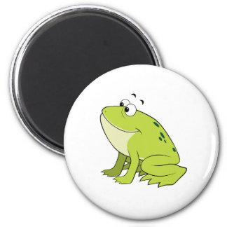 cartoon frog magnet