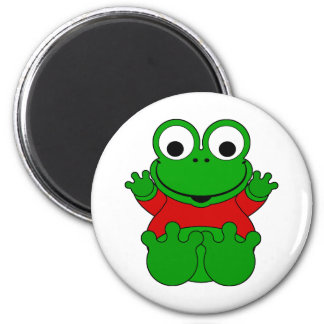 Cartoon Frog Magnet