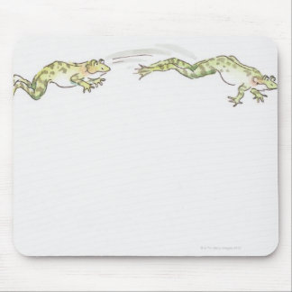 Cartoon Frog Mouse Pad