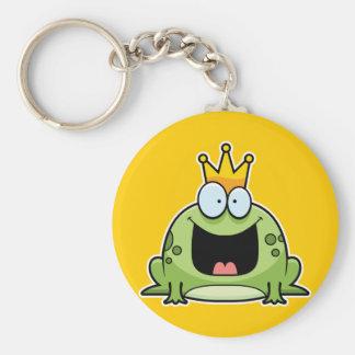 Cartoon Frog Prince Keychain