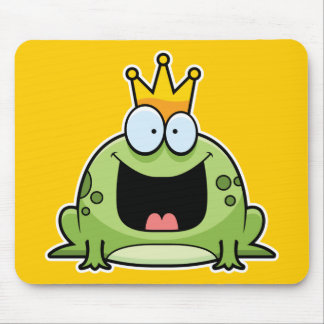 Cartoon Frog Prince Mouse Pad