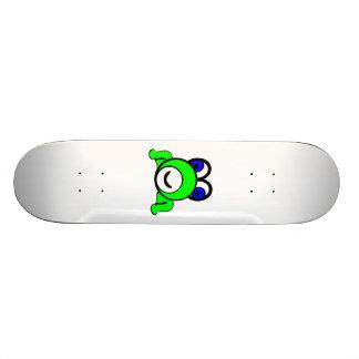 Cartoon Frog Skateboard Deck