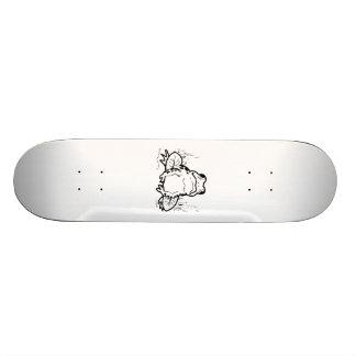 Cartoon Frog Skate Board