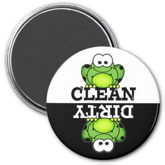 Cartoon Froggy Dishwasher Magnet