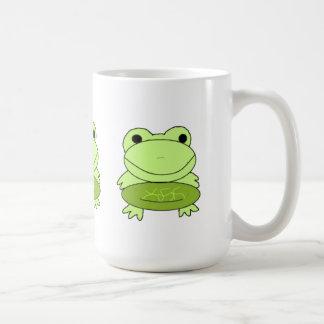 Cartoon Frogs Coffee Mug