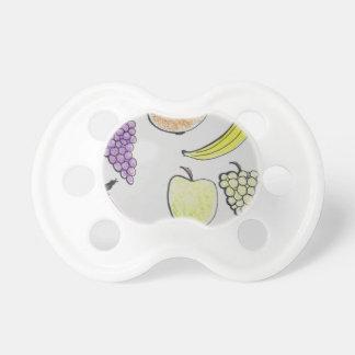 cartoon fruit pacifier