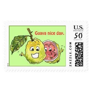 Cartoon Fruit Postage Stamps - Custom