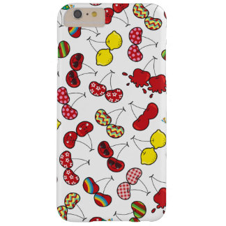 Cartoon Fun Comic Funny Cheeky Red Cherries Cherry Barely There iPhone 6 Plus Case