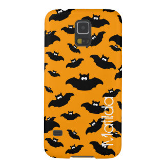 cartoon funny bat with name galaxy s5 cover
