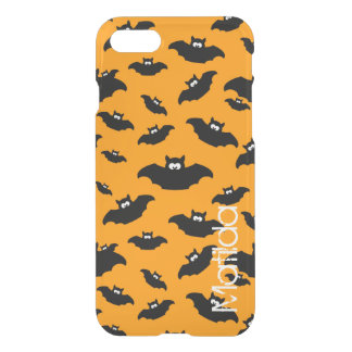 cartoon funny bat with name iPhone 8/7 case