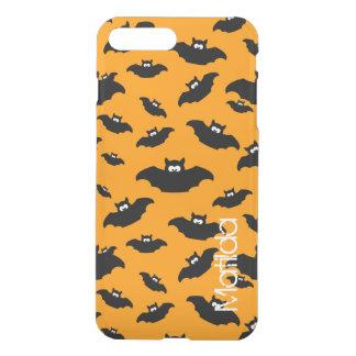 cartoon funny bat with name iPhone 8 plus/7 plus case