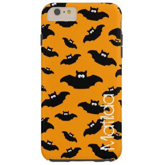 cartoon funny bat with name tough iPhone 6 plus case