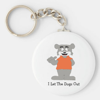 Cartoon Funny Dog Keychain