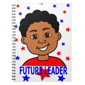 Cartoon Future Leader Image Notebook