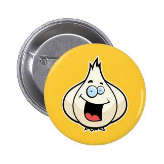 Cartoon Garlic Button