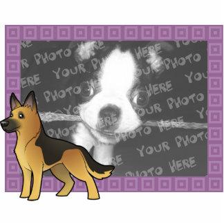 Cartoon German Shepherd Cutout