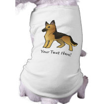 Cartoon German Shepherd Shirt