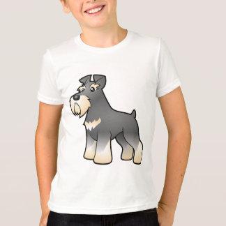 Cartoon Giant/Standard/Miniature Schnauzer T-Shirt
