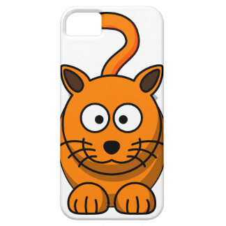 Cartoon Ginger Cat Mobile Phone Case