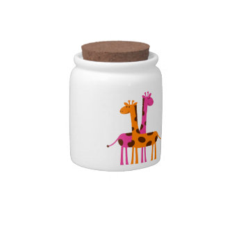 Cartoon Giraffe Candy Dish