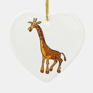Cartoon Giraffe Ceramic Ornament