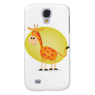 Cartoon Giraffe Galaxy S4 Cover
