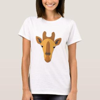 Cartoon Giraffe Head T-Shirt