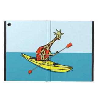 Cartoon Giraffe in a sea kayak Powis iPad Air 2 Case