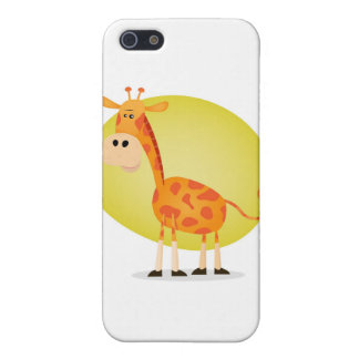 Cartoon Giraffe iPhone SE/5/5s Case